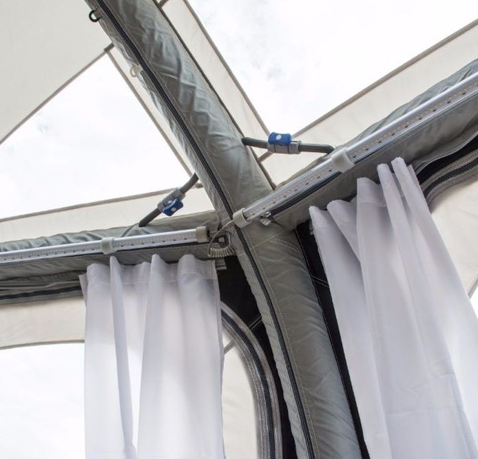 Kampa Sabre LINK 150 LED Starter Caravan Awning /& Tent Light Add On Kits 2019