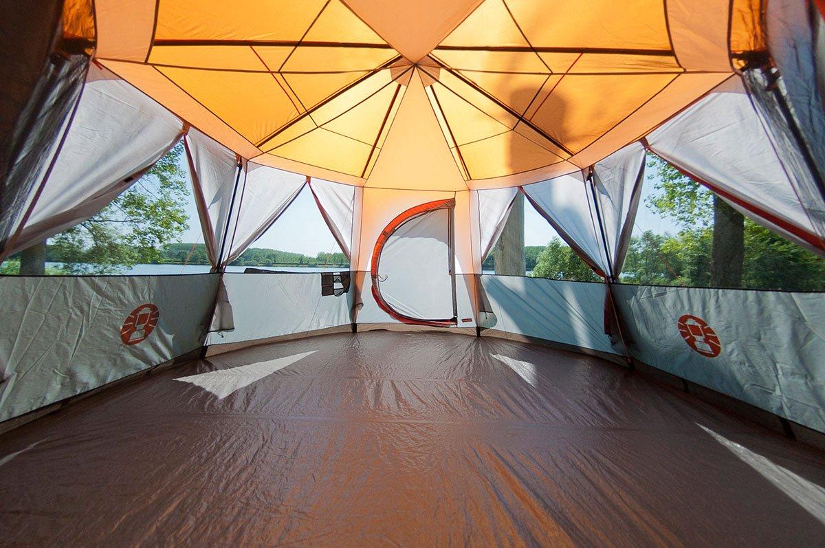 Coleman Cortes Octagon 8 Tent | Millets