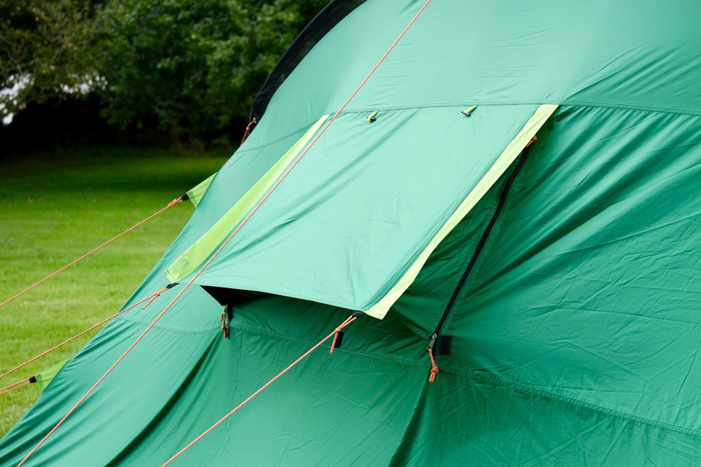 Coleman Pinto Mountain 5 Plus Tent Blackout Bedroom
