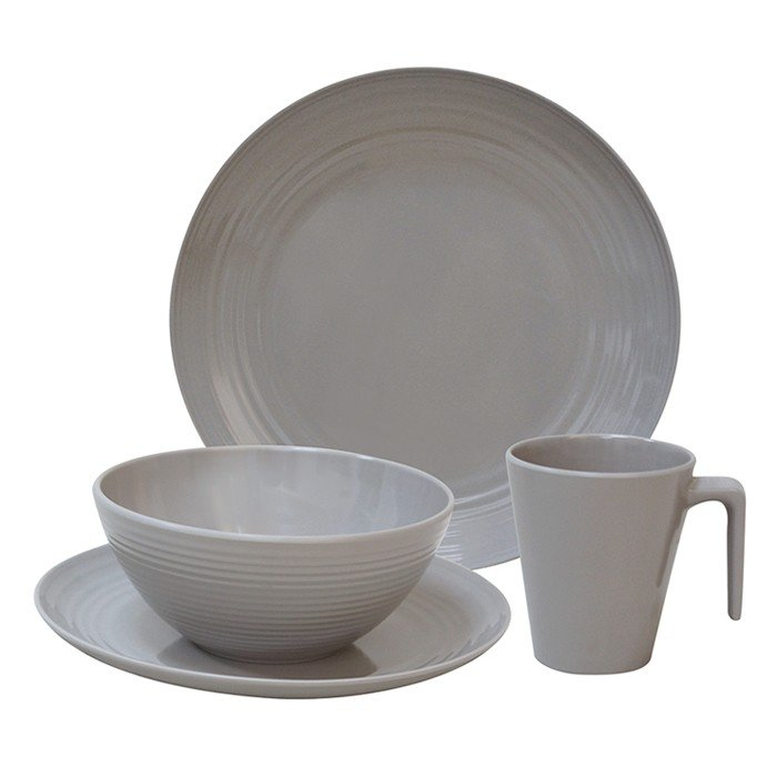Flamefield Seramika Latte Bowl Melamine