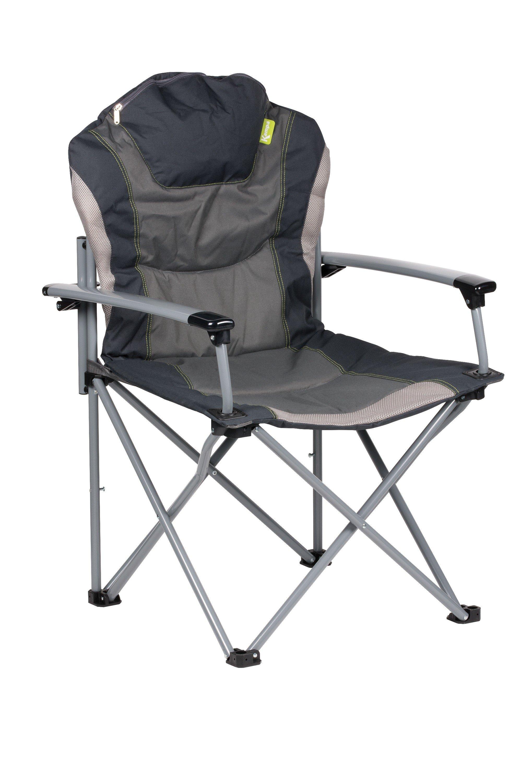 Kampa Guvnor Folding Armchair Charcoal Wow Camping