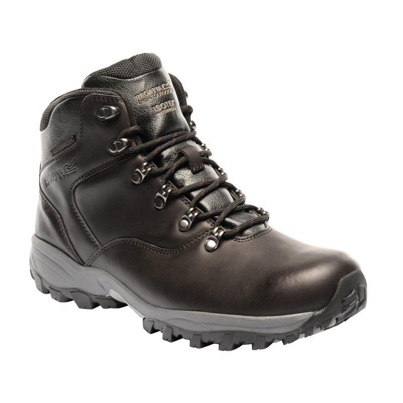 Regatta Bainsford Leather Walking Boots (Peat)