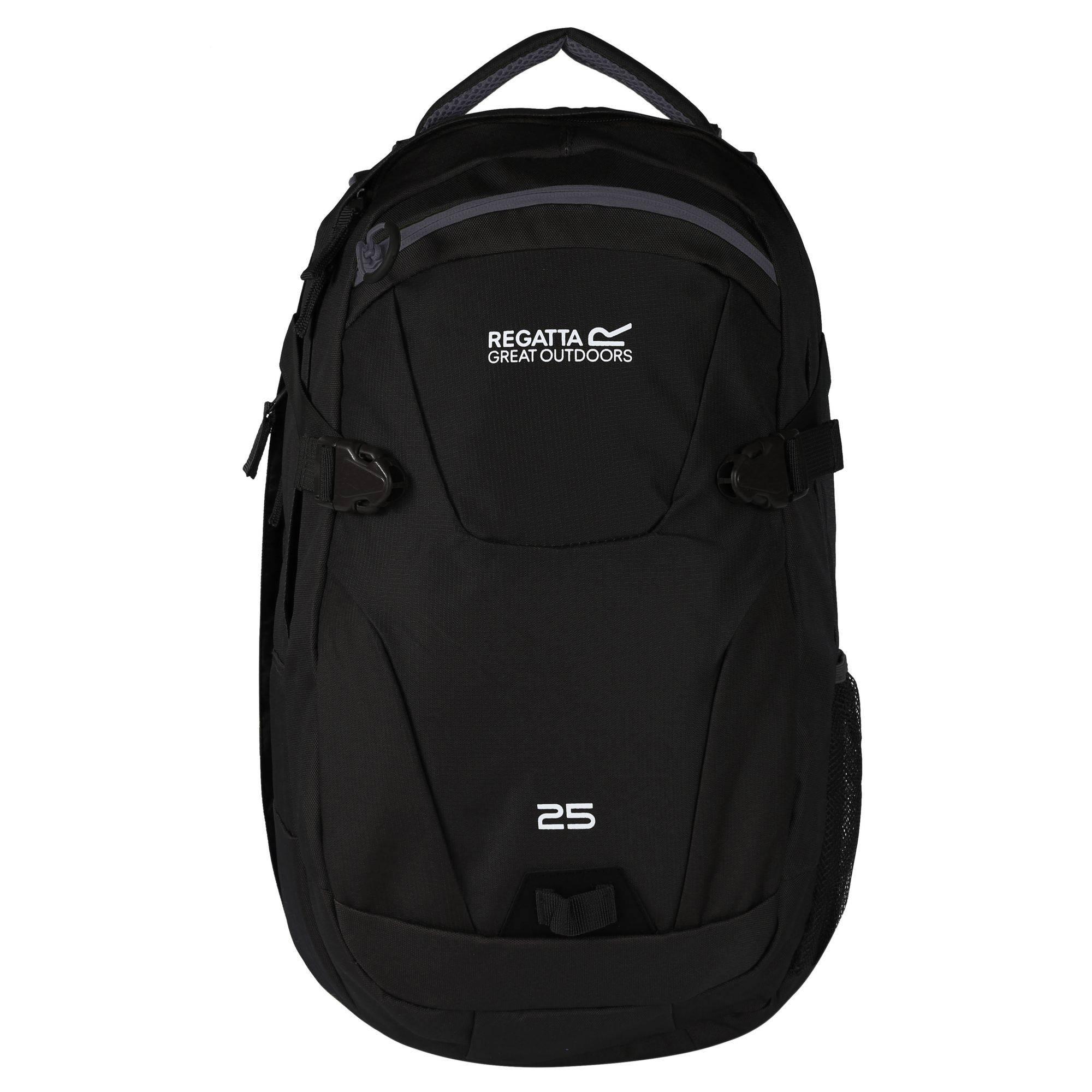 af2d9edf0721e Regatta Paladen 25L Laptop Backpack Black Ebony - Wow Camping