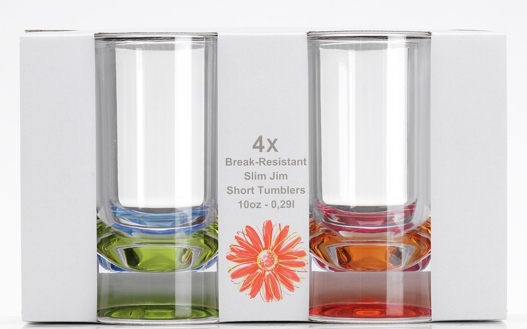 9af652cc616 Party Acrylic Slim Jim Tumbler - 4pk by Flamefield - Wow Camping