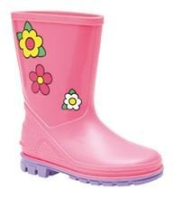 Kids PVC Welly (Pink)