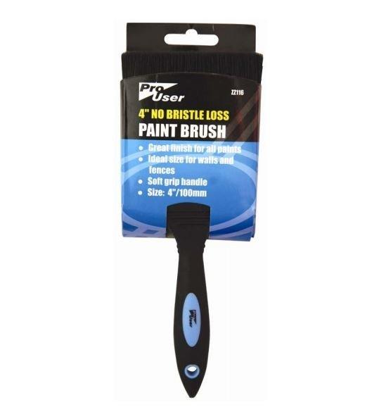 "Pro User 4"" No Bristle Loss Paint Brush"