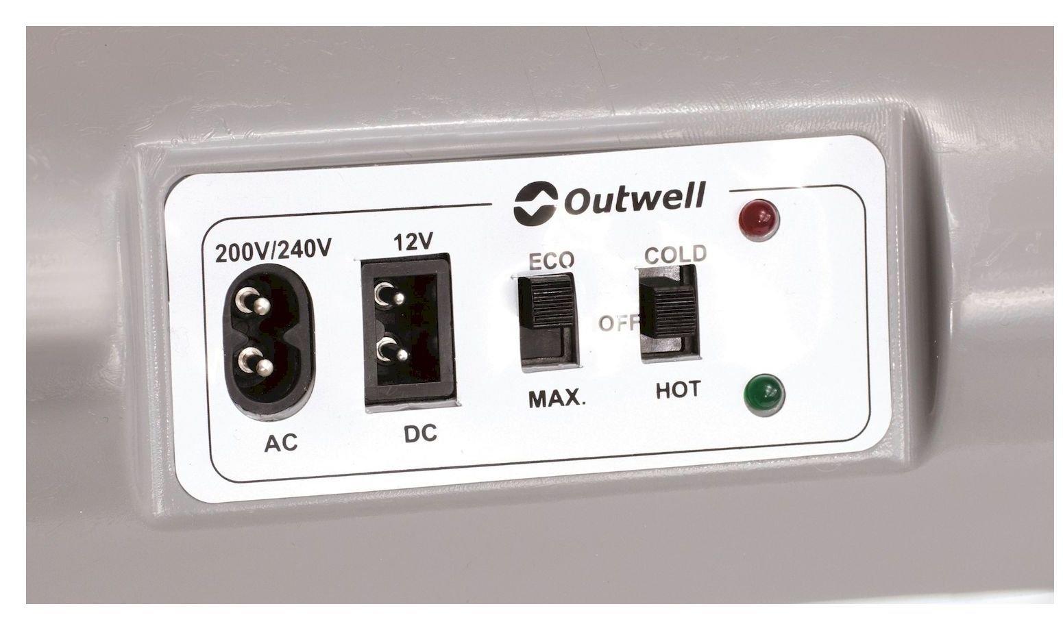 Outwell ECOcool Prime Light Blue 24L 12v/230v Cool Box