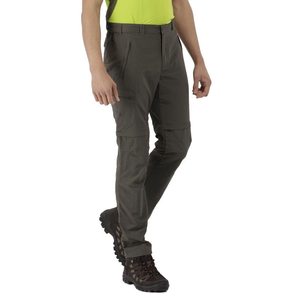 1567cb31b62 Regatta Leesville Mens Zip Off Trousers (Hawthorn)
