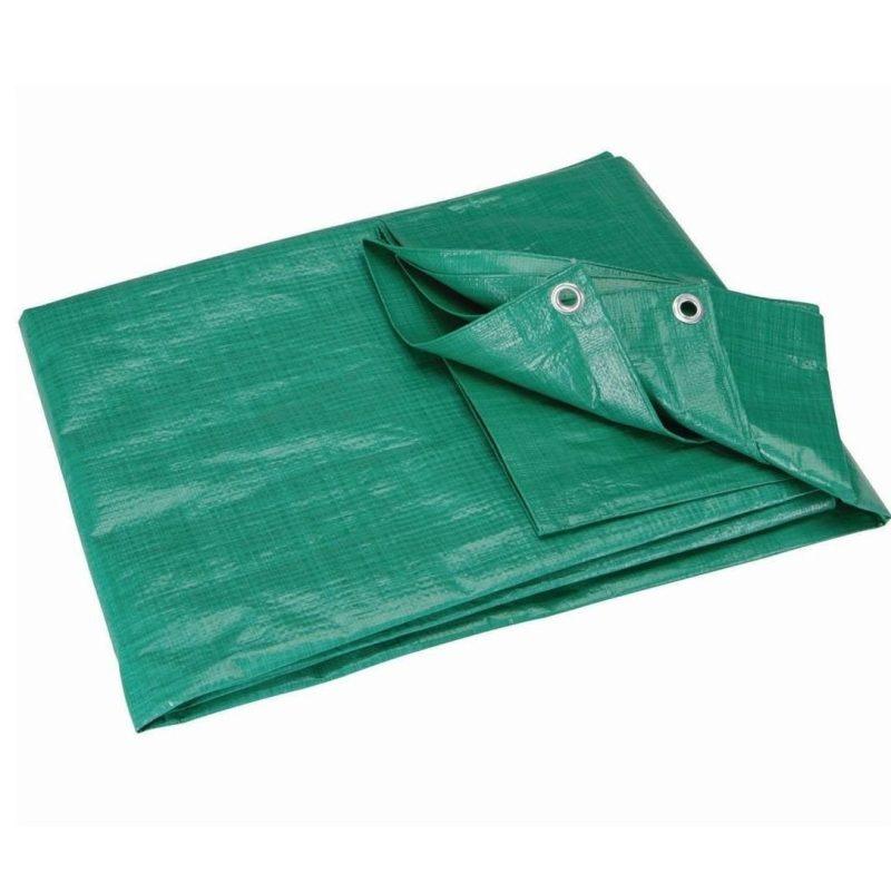 Green Tarpaulin / Groundsheet 1.8M x 1.8M