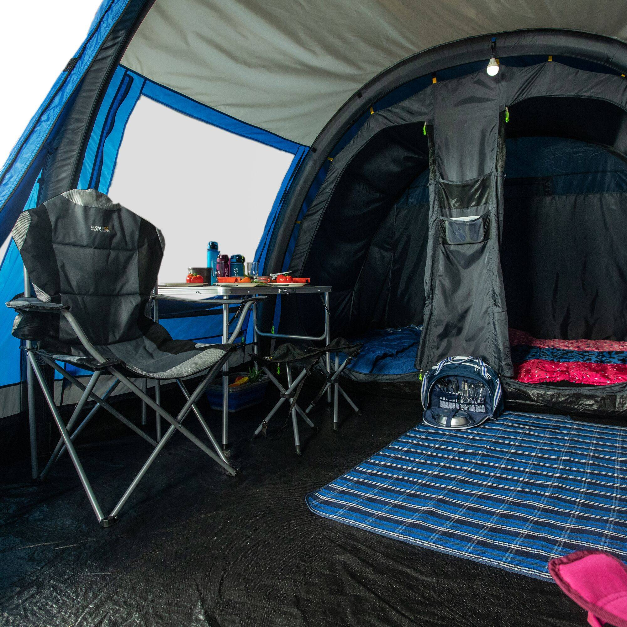 Regatta Kolima 5 Inflatable Tent 5 Berth - Wow Camping