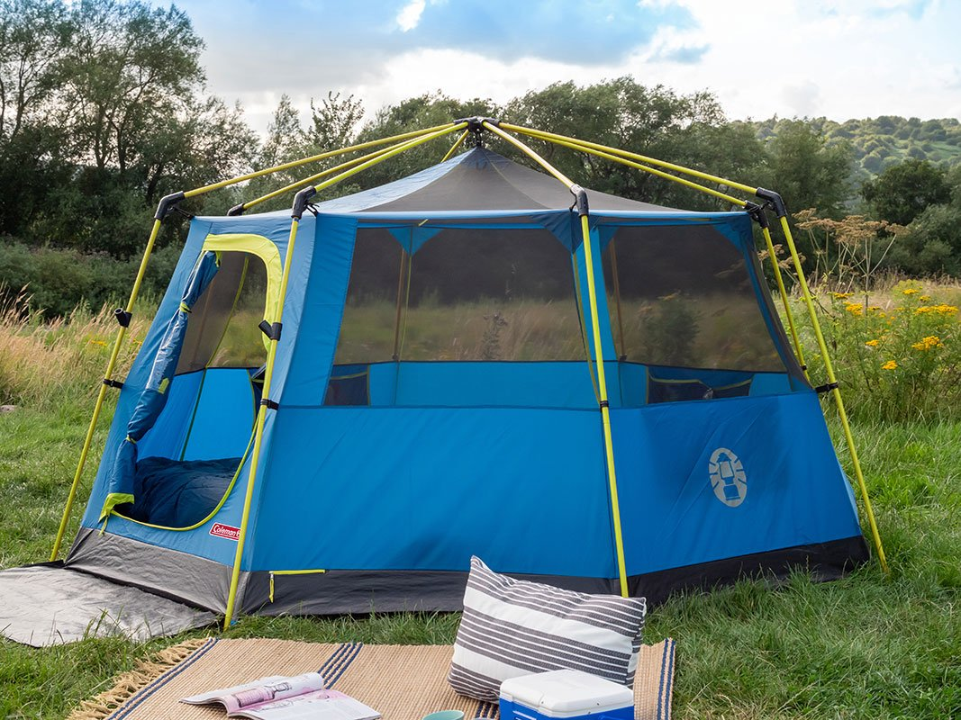Coleman OctaGo 3 Man Tent 2021 Model - Wow Camping