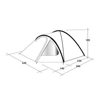 Outwell Cloud 5 Man Tent 2021 Model