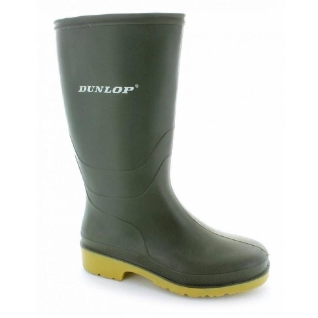 Dunlop Kids PVC Welly (Green)