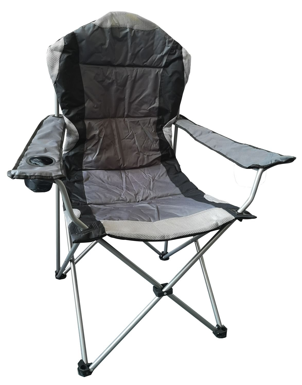 Redwood Leisure Padded Highback Chair Grey