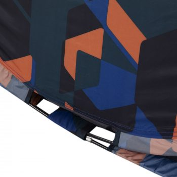 Regatta Malawi 2 Berth Pop Up Tent Blue Geometric