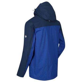 Regatta Highton Stretch W'proof Jacket (Nautical Blue/Dark Denim)