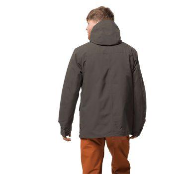 Jack Wolfskin West Coast Winter Jacket (Brownstone)