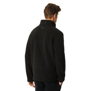 Regatta Garrian Mens Heavy Micro Fleece (Black (Black))