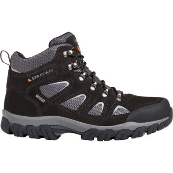 Sprayway Mull Hydrodry Walking Boots (Black)