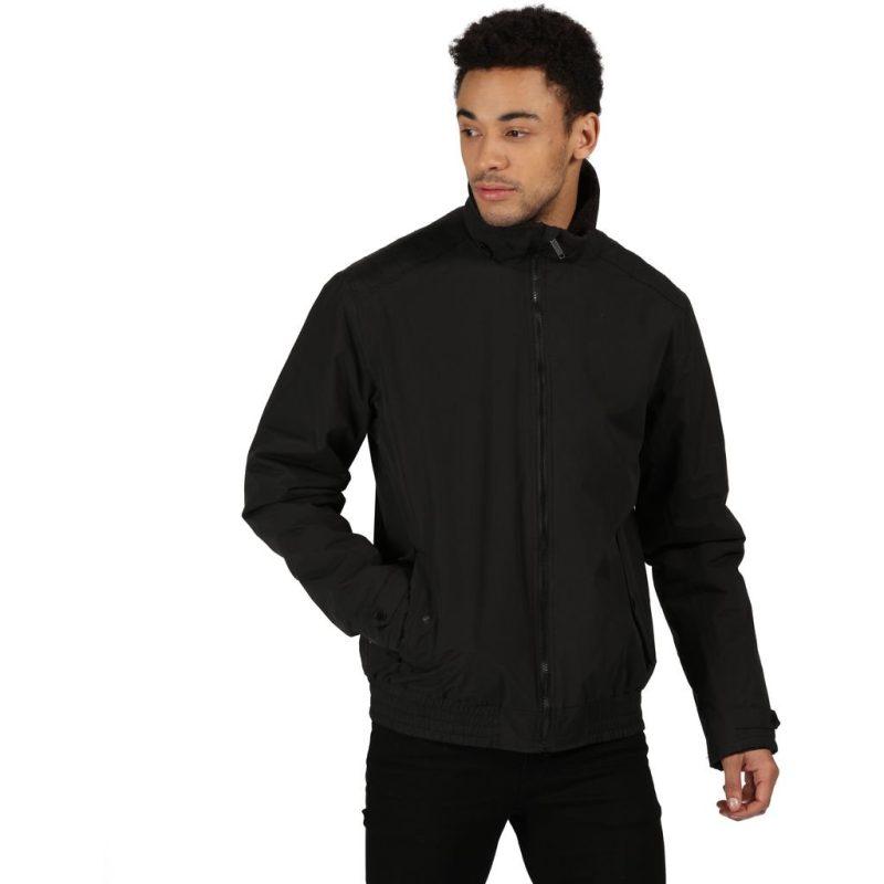 Regatta Rayan Mens Waterproof Jacket (Black)