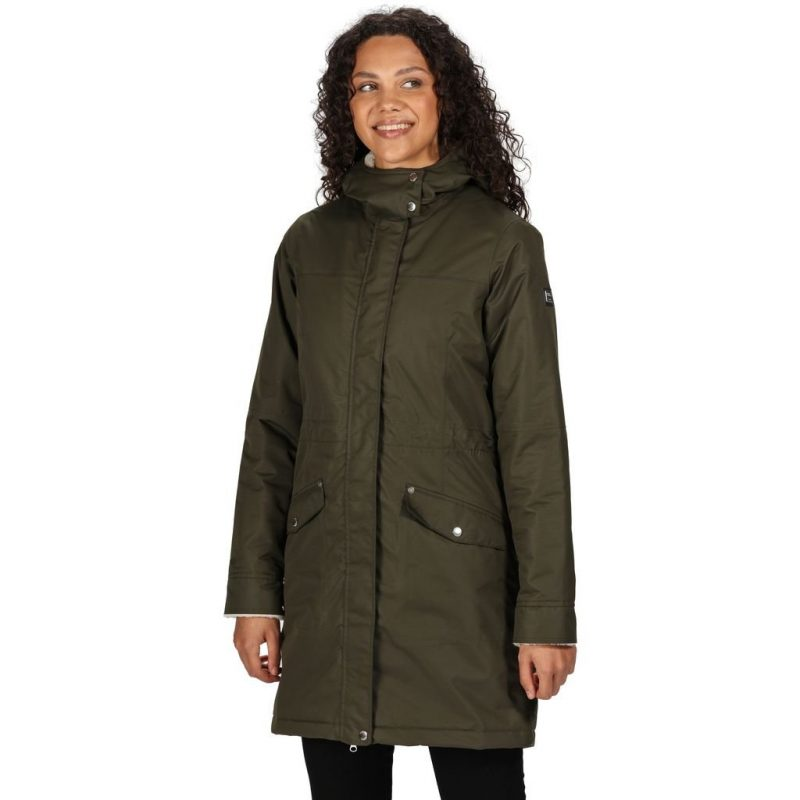 Regatta Rimona WP Insulated Wmns Parka (Dark Khaki)