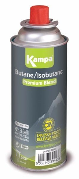 Kampa Butane Gas Cartridge 227g Pack of 4