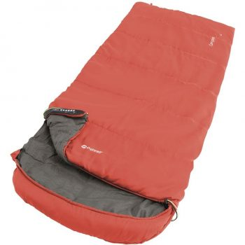 Outwell Campion Lux  Single Sleeping Bag Red