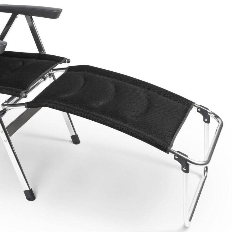 Dometic Footrest Milano Pro Black