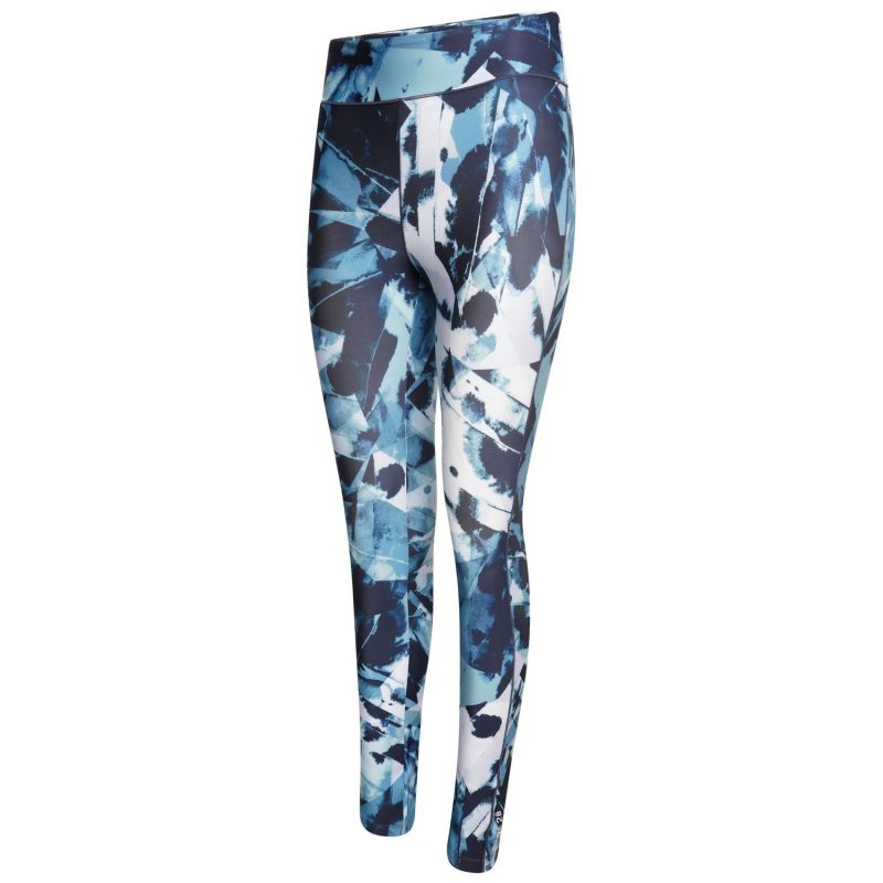 Dare2b Influential Leggings (Dragonfly Ink Green Print)
