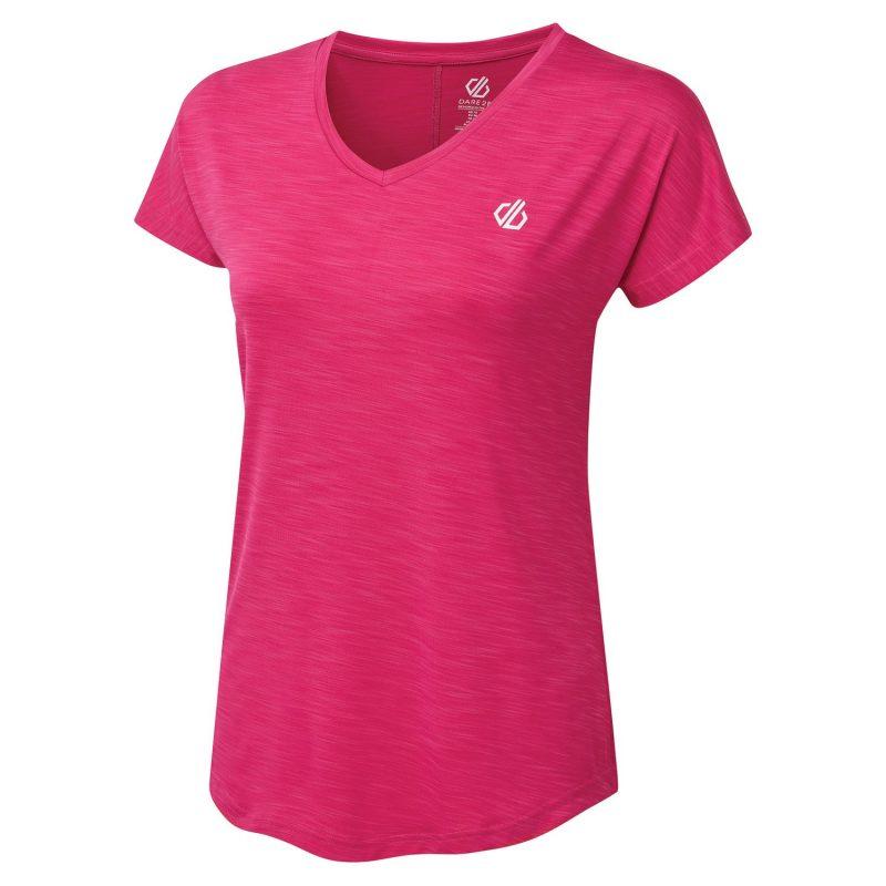 Dare2b Vigilant Quick Dry T-Shirt (Active Pink)