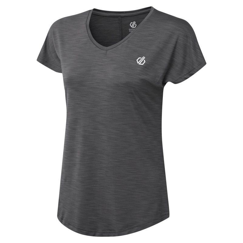 Dare2b Vigilant Quick Dry T-Shirt (Ebony Grey)