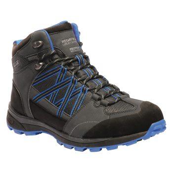 Regatta Samaris Mid II Walking Boots (Ash/Oxford Blue)