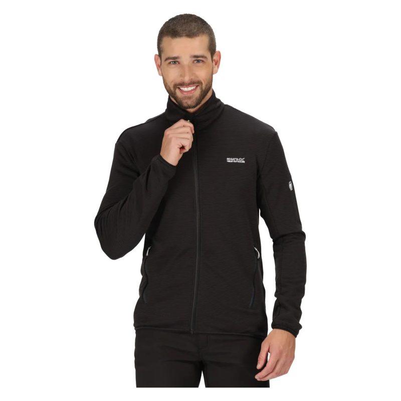 Regatta Highton Lite F/Zip Extol Stretch (Black)
