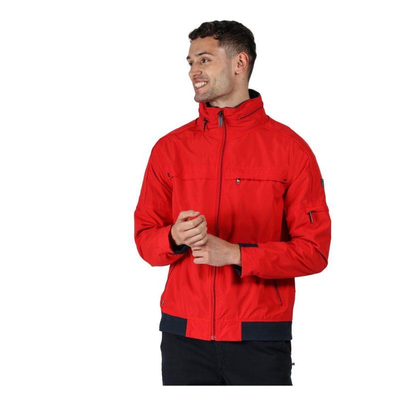 Regatta Montel Mens Waterproof Jacket (True Red)