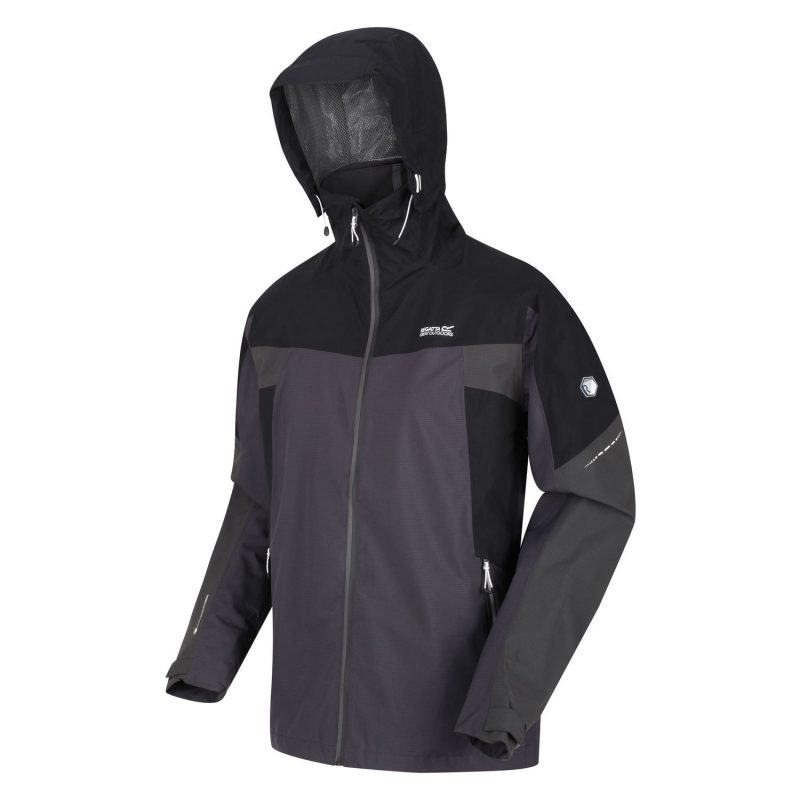 Regatta Oklahoma Stretch W/Proof Jacket (Ash/Black)