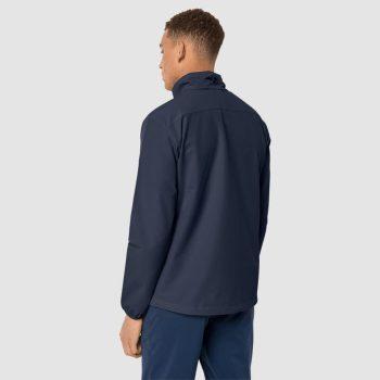 Jack Wolfskin Crestview Mens Jacket (Night Blue)