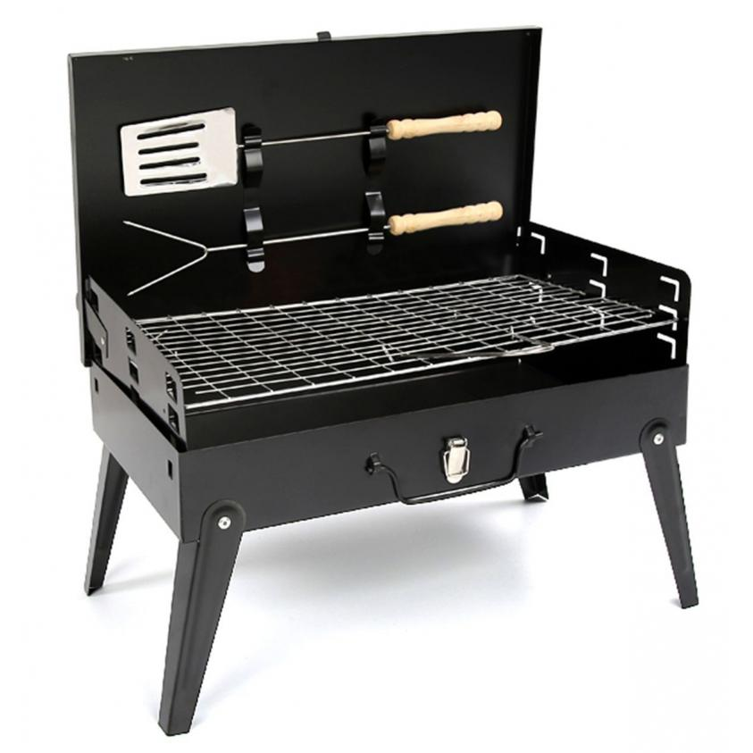 Redwood Leisure Folding BBQ Grill With Accessories