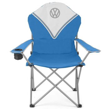 VW Deluxe Padded Folding Chair  - Blue